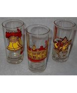Three Bicentennial Celebration Drink Glasses wi... - $9.95