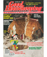 Good Housekeeping December 1989-GINGERBREAD HOUSE IDEAS - $14.99