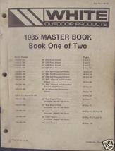 1985 White Lawn & Garden Equipment Master Parts... - $32.00