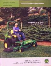 2006 John Deere Commercial Mowers Brochure - Color - $7.00