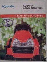 2002 Kubota T1570, T1670, T1770, T1870 Lawn Tra... - $7.00