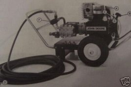 John Deere 225G,215G Pressure Washers Operator'... - $12.00