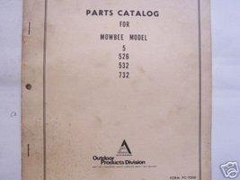 Allis Chalmers Mowbee 5, 526, 532, 732 Mowers P... - $10.00