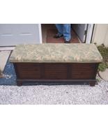 Walnut Cherub Print Cedar Chest or Blanket Ches... - $499.00