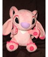 Disney Store Lilo and Stitch Angel Girlfriend Pink Plush Stuffed Animal Doll - $16.88