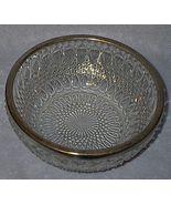 Elegant England Glass Press Pattern Kitchen Bow... - $9.95