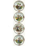 Four Season Wall Plate Intrada Italian Hand Pai... - $675.00