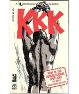 KKK Ben Haas White Knighthood of Hate Book 1963 - $7.99
