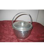 VTG NASCO, Italy, Hammered Aluminum Ice Bucket ... - $24.87
