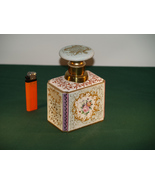 An Antique Capodimonte Porcelain Tea Caddy. - $160.00