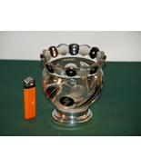 An Art Deco Ladies Enameled Glass Bowl.  - $165.00