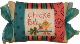 Chicks Rule (PMD-360) Tie One On Kit cross stit... - $18.00