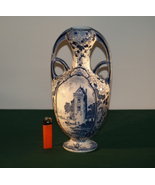 Antique Delftware Vase. - $95.00