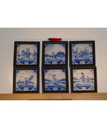 Antique Delftware Tiles  - $175.00