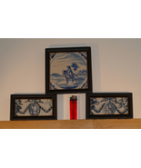 Antique Delftware Tiles  - $465.00