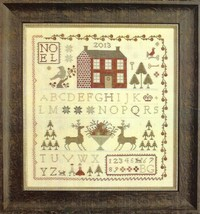 Noel Sampler christmas cross stitch chart Count... - $9.00