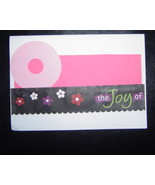 O the Joy of, knowing your my friend Card , Han... - $3.95