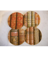 Set of 4 Handmade Cork Coasters With Images of ... - $12.00