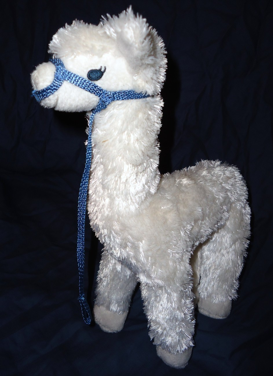 American Girl Chrissa Pet Llama Starburst Pet Plush Stuffed Animal Pleasant Co
