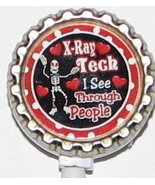 X ray Tech 2 ID badge holder w retractable reel 2