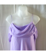 New long lilac size 13 bridesmaid dress with dr... - $25.00