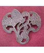 Antique Art Nouveau Butterfly Sash Pin - $18.50