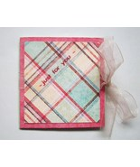 Gift Card Holder With Envelope Handmade New Jus... - $2.00
