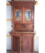 Stained Glass Hutch/ Buffet - $1,459.50