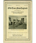 1932 Issue OLD=TIME NEW ENGLAND Harrison Gray O... - $7.00