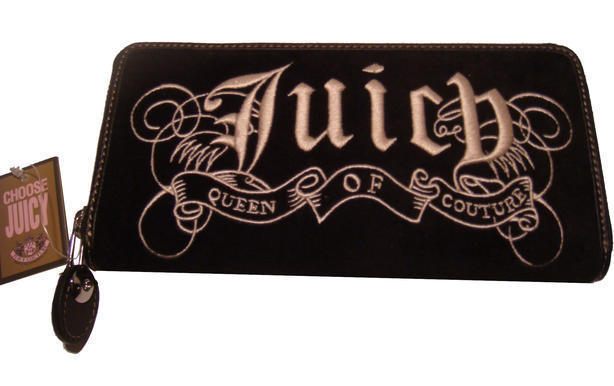 Juicy Couture - Women's Velour Zip Clutch  (ref. #YSRUS110)