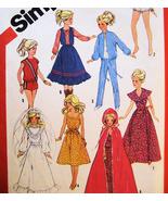 Simplicity 6363 Vintage Fashion Doll Pattern 11... - $9.95