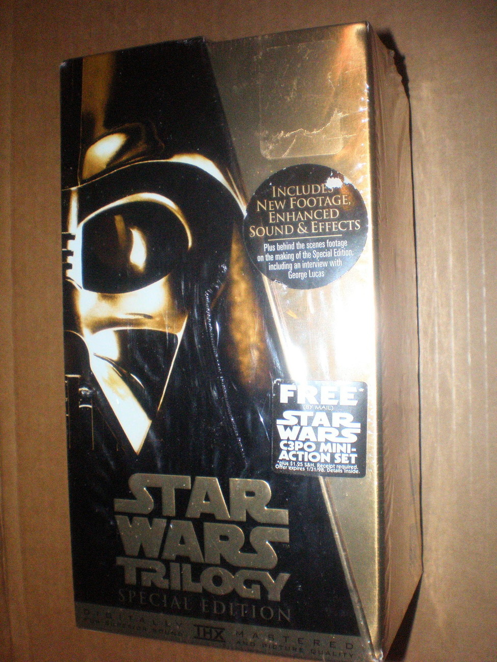 Star Wars Trilogy Special Edition VHS-Brand New, Factory Sealed