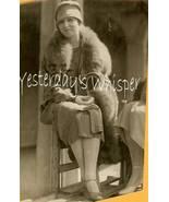 DeMille MISTRESS Julia FAYE Fur 1926 ORG Candid... - $19.99