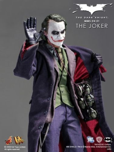 Hot Toys Joker DX01 Dark Knight Heath Ledger MIB Stocked in the U