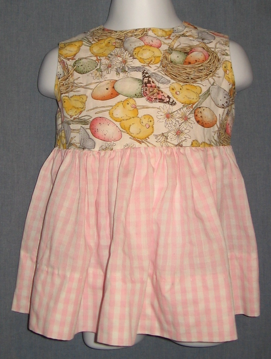 Pink Easter Dress size 18-24 month Baby girl