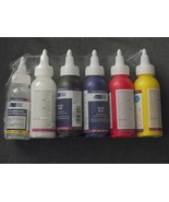Yudu screenprinting fabric ink set of 5 = 4 col... - $19.99