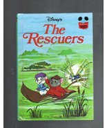 Disney's The Rescuers, Hardcover Book, 1977, Th... - $4.00