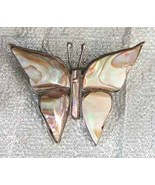 Elegant Taxco Iridescent Shell Sterling Silver ... - $34.95
