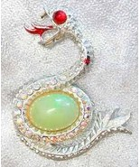 Dramatic Rhinestone Jelly Belly Serpent Snake B... - $29.95