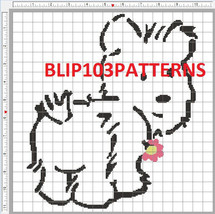 Jasmine cross stitch: simple pattern maker free pattern