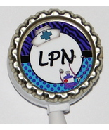 LPN ID badge holder w retractable reel 3 colors to choose from