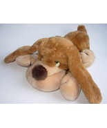 Russ Samuel Floppy Dog Brown Plush Stuffed Animal 13 inches Basset Hound
