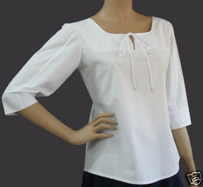 Women Plus Size Clothing White Blouse Top 1X 14/16 New