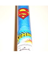 Superman Gift Wrap Birthday Wrapping Paper - $5.00