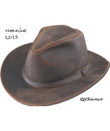 Henschel Distressed Full Grain Oiled Leather Sa... - $68.00
