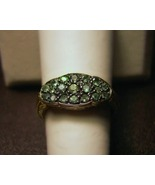 14k Gold Genuine Alexandrite Ring 3.8grams Colo... - $450.00