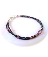 Bulimia Support Bracelet Mia MEN'S|UNISEX Purpl... - $22.99