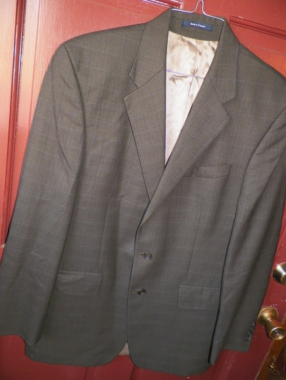 Buy men blazers & lawsuits - Chaps Ralph Lauren Men\'s Blazer Wool & Cashmere size 42 Tall - Stone - Regular 42