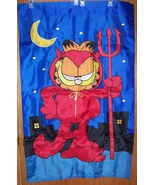 Garfield Devil Halloween Decorative Flag