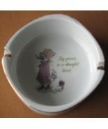 Holly Hobbie Ashtray Porcelain Made Japan Joy G... - $14.93